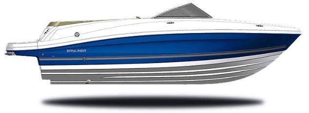 Render of a NauticStar Hybrid boat
